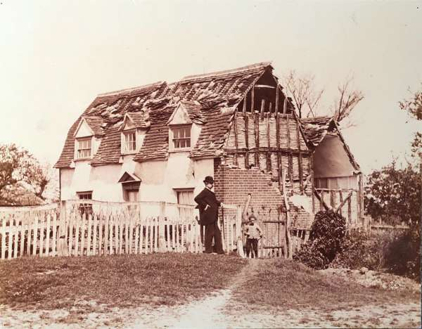 Earthquake damage, Peldon