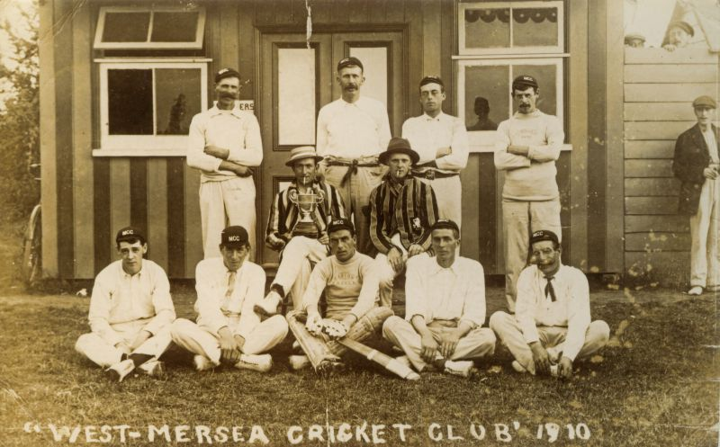 West Mersea Cricket Club in 1910: