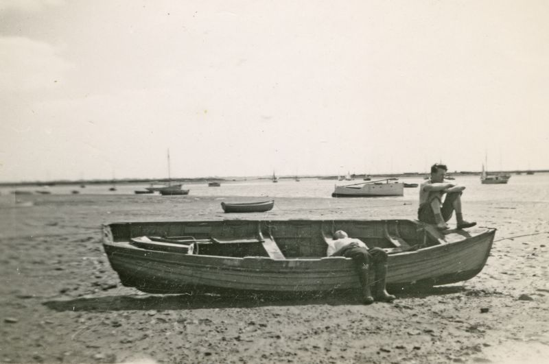 Mersea Hard. Photograph from Joan Pullen. 