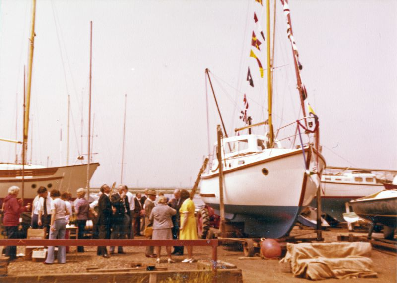 Launch of JAN, owned by Joan and Norman Ward. 