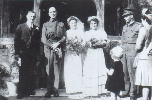 Wedding of Dora and Robert Banfield.