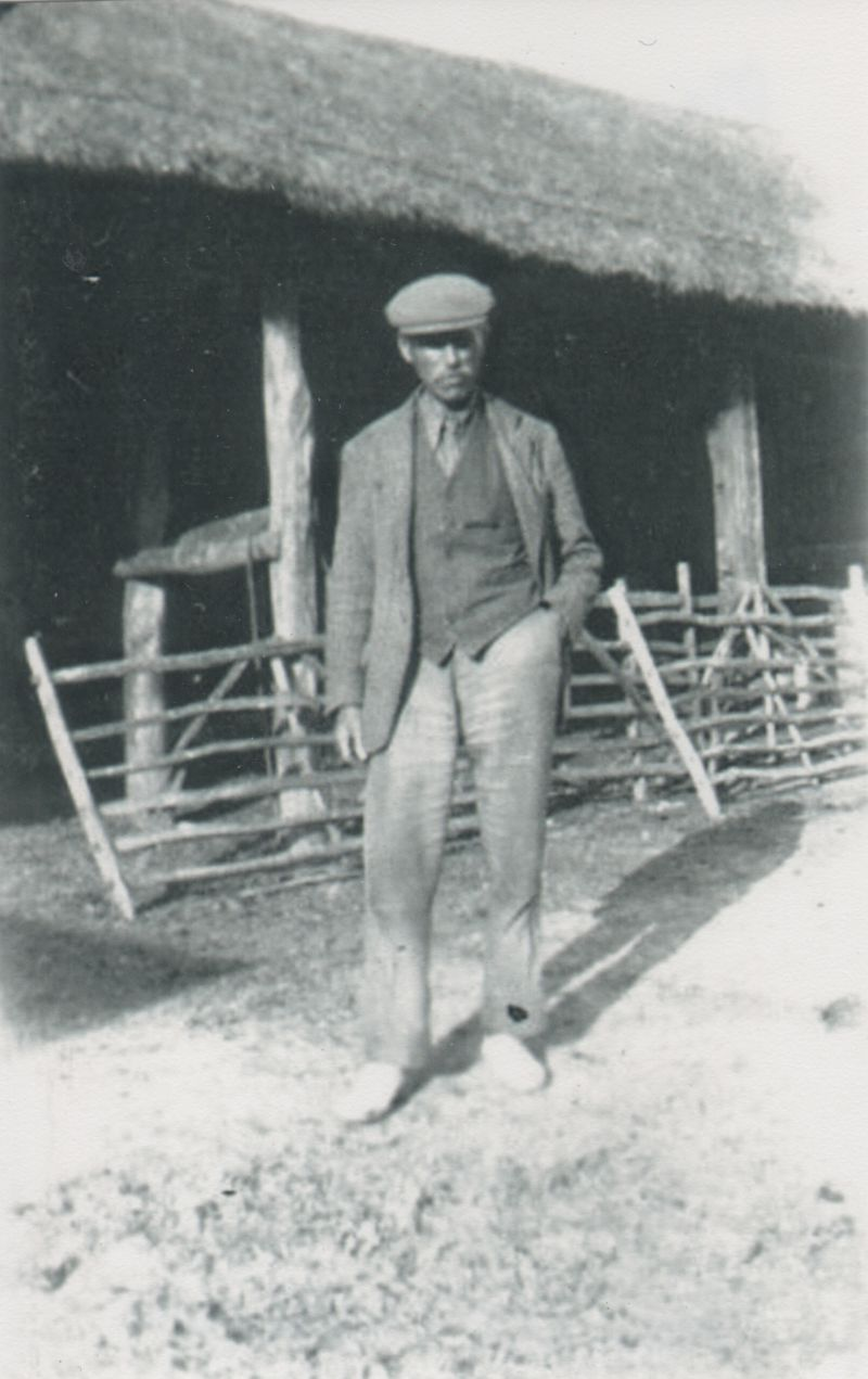 Maurice Wooldridge at Kemps Farm