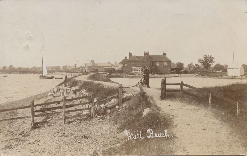 Mill Beach, Heybridge. Posted October 1914.