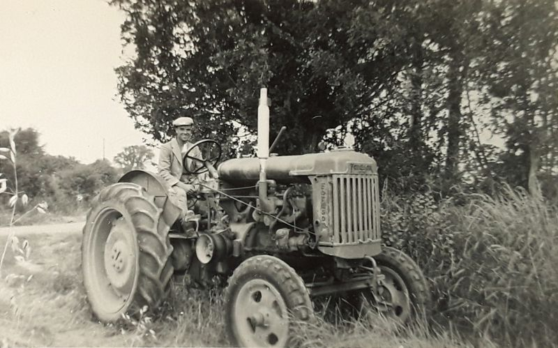 Bernie Ratcliffe Fordson Tractor