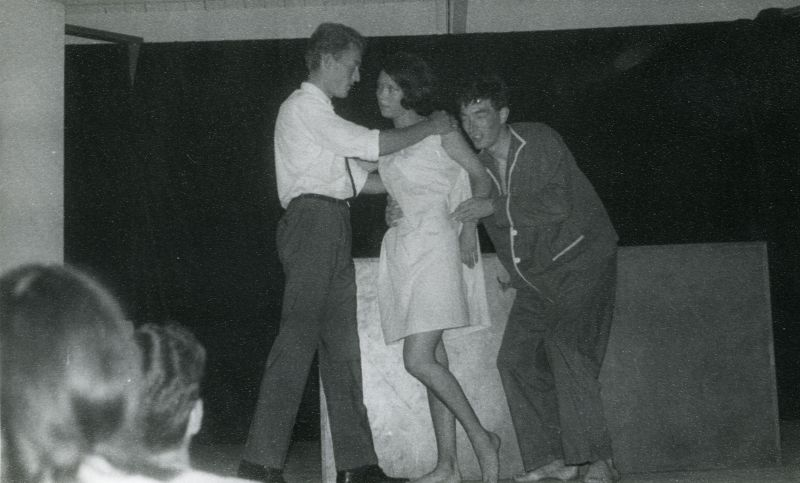International Youth Camp. From sketch Don't wake the wife or The Eternal Triangle.