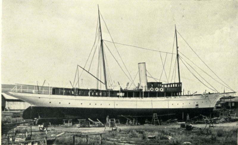 Steam Yacht ELSIE. 