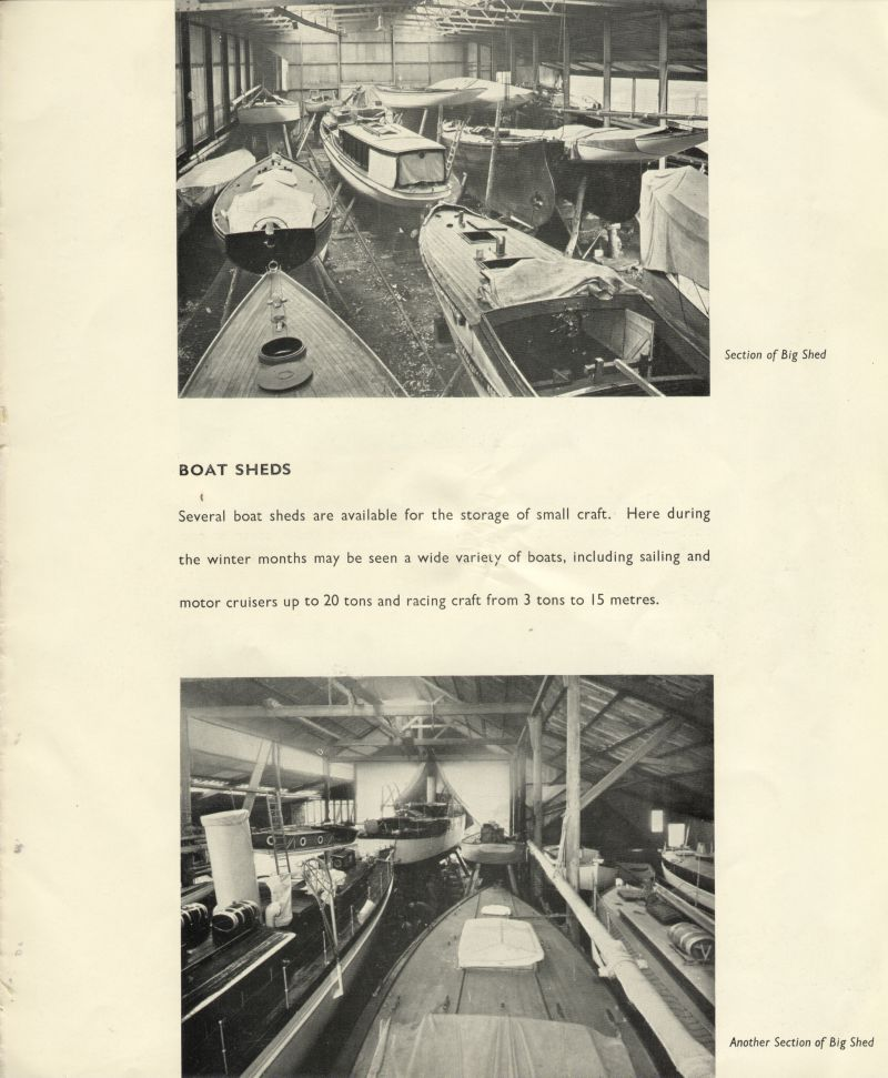 Aldous Successors Ltd catalogue --- page 31. Boat sheds 