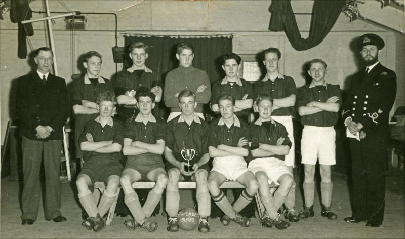 Mersea Island Sea Cadet Corps Football Team 1949-50 