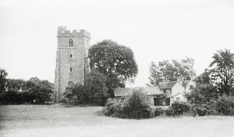 Peldon Church from the west. 