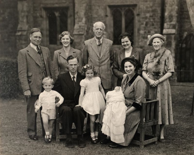 William and Marjorie Burrill and family.
