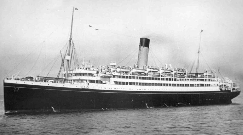 MEGANTIC. Passenger line built 1909 for Oceanic Steam Navigation Co. Laid up in River Blackwater early 1931. Broken up Osaka 7 May 1933.