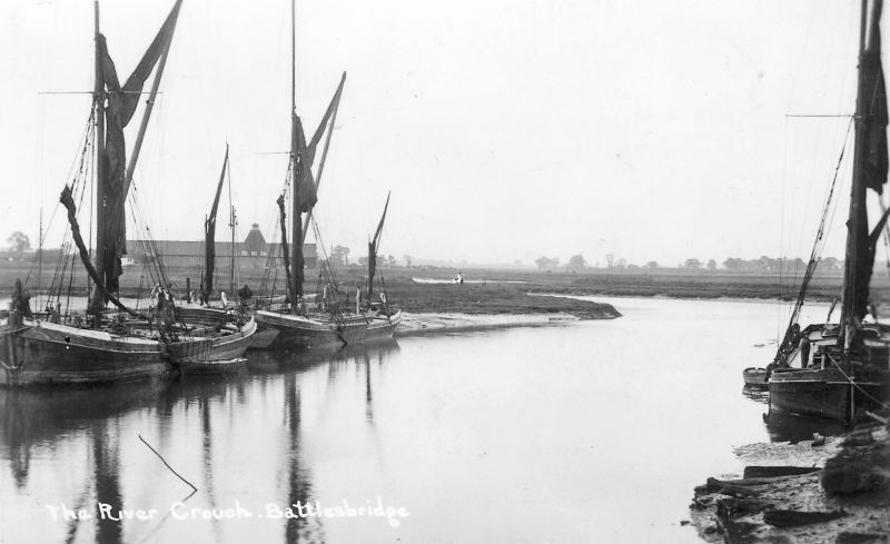 The River Crouch, Battlesbridge. 