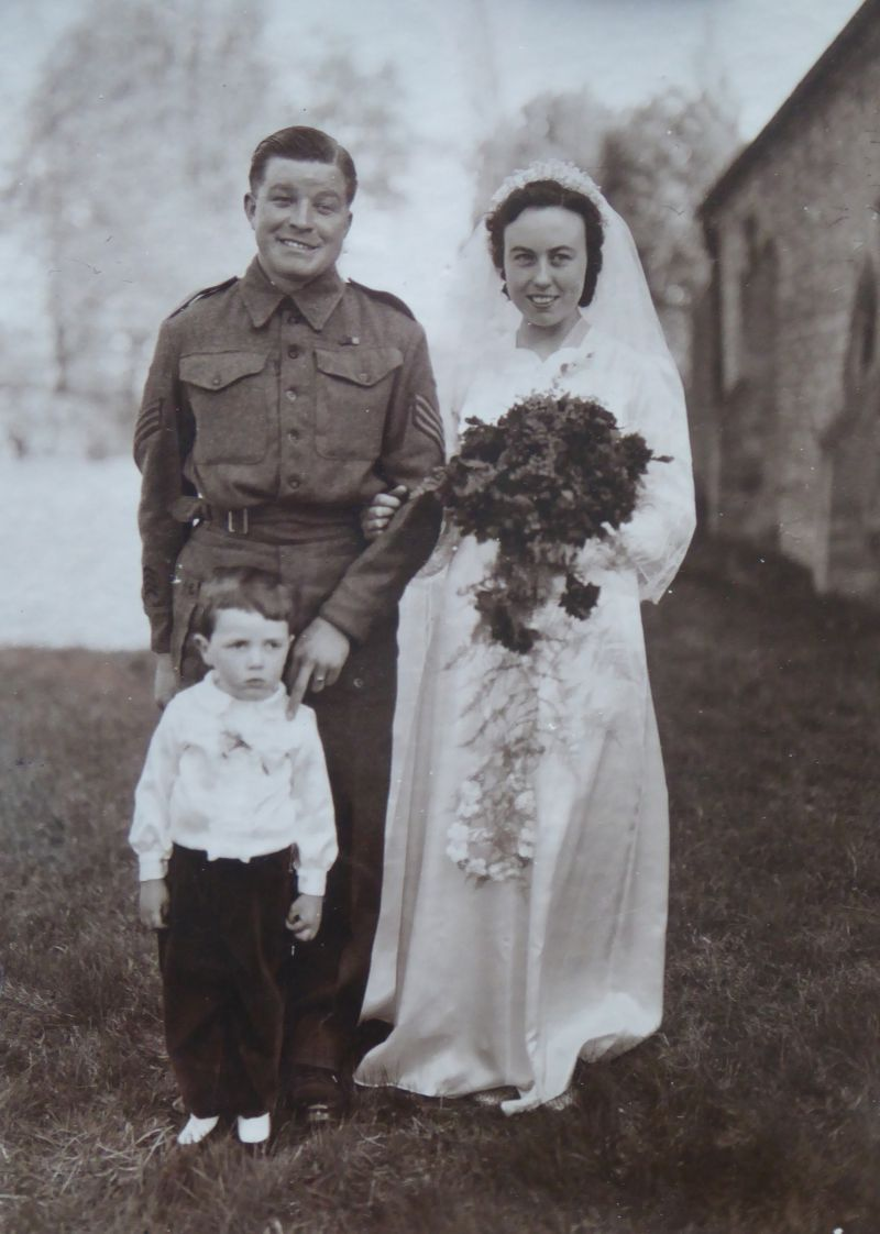Marriage of George Taylor and Irene Beaumont 22 Apr 1944