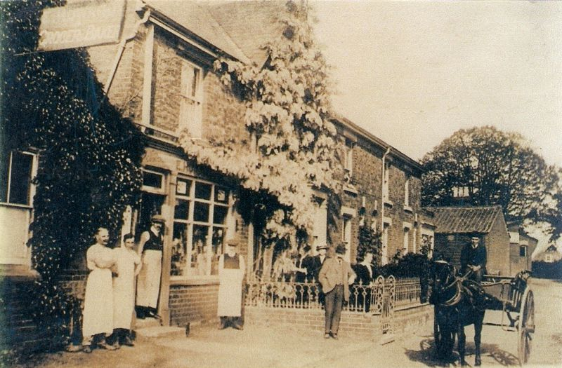 Howard's Stores, Church Road, with the bakery on the left, just after taking over from Ashton Turner.