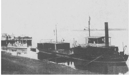 SELENGA - built by Forrestt Wivenhoe in 1896 for the Russian Amur flotilla.