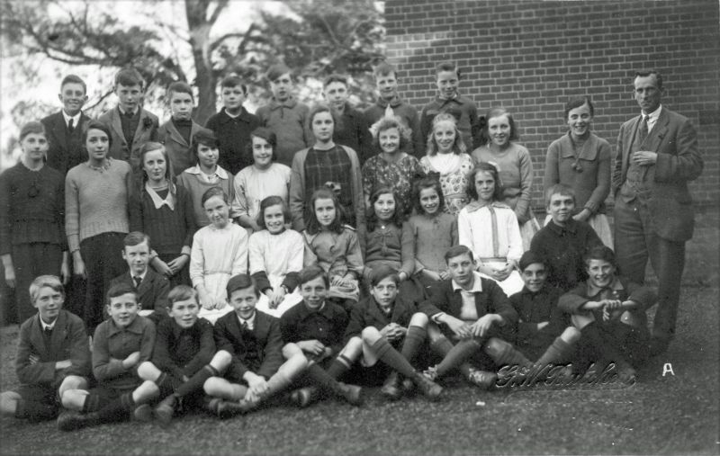 West Mersea School group 