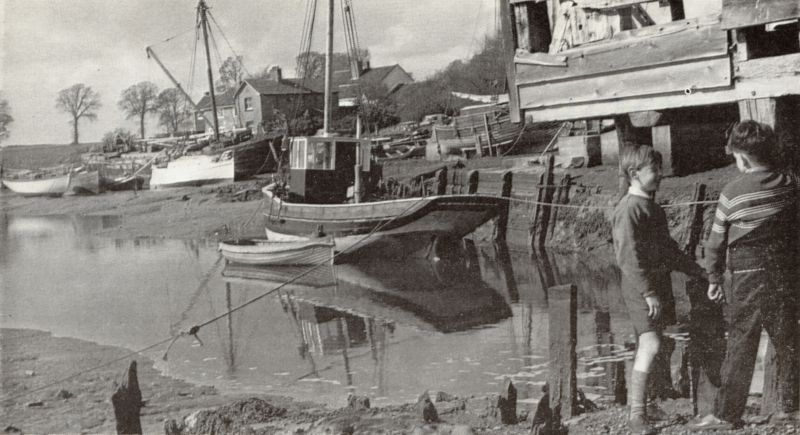 St Osyth creek at low tide, by the old tide mill. Photo competition entry from Douglas Went