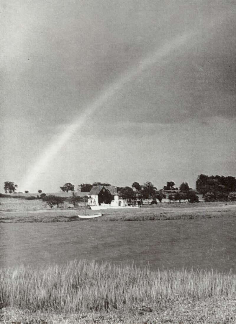 The rainbow's end over Alresford.