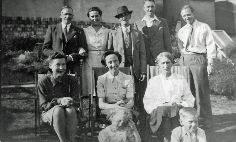 Smith family from Mersea Avenue