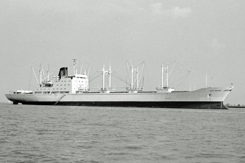 IRIS QUEEN laid up in River Blackwater Date: 12 September 1976.