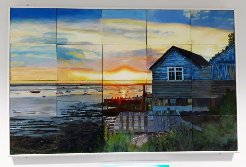 Old Oyster Sheds at West Mersea