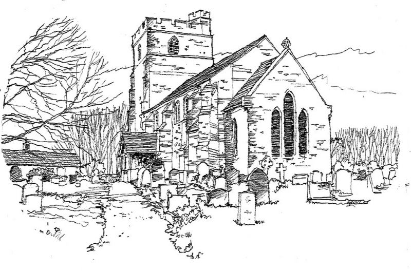 Peldon Church by Steve Sharpe