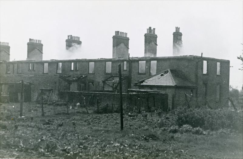 Coastguard Cottages fire 