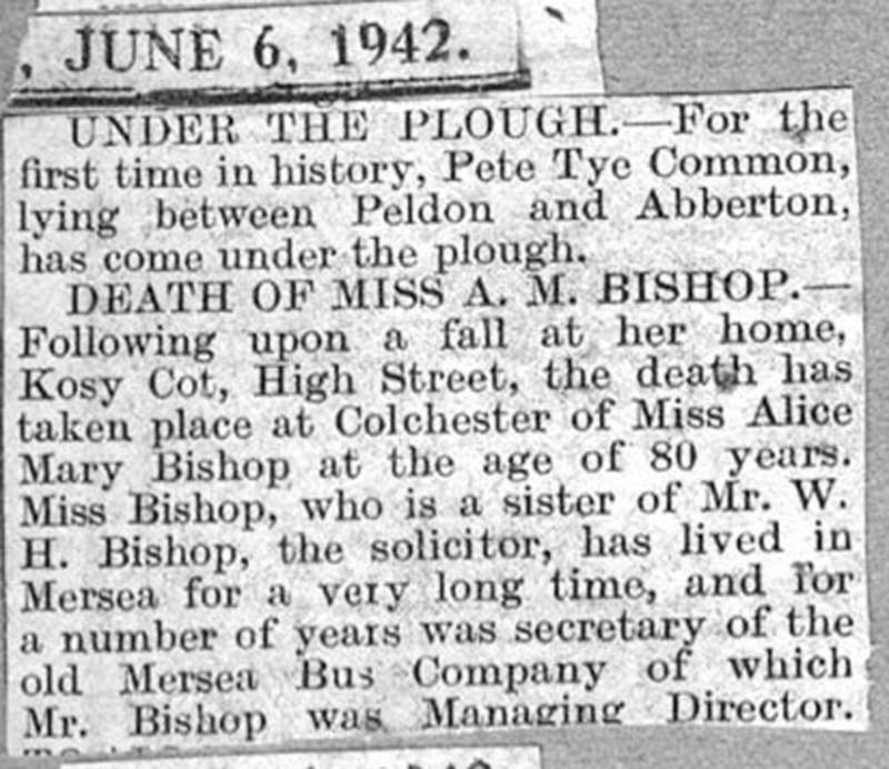 Under the Plough - for the first time in history, Pete Tye Common lying between Peldon and Abberton has come under the plough.