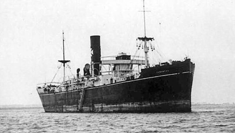 CANONESA off Tollesbury. She arrived from London to lay up 29 June 1934. Date: After 29 June 1934.