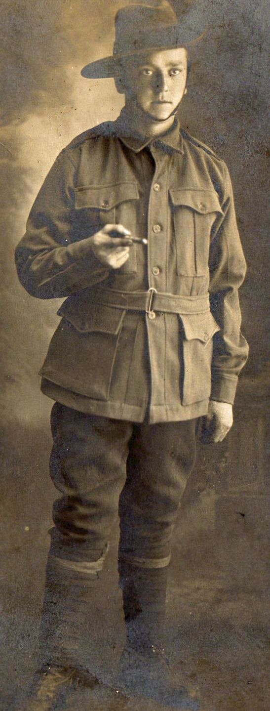 Thomas Henry Bossence Batten, killed in action age 19, France, 29 July 1916 