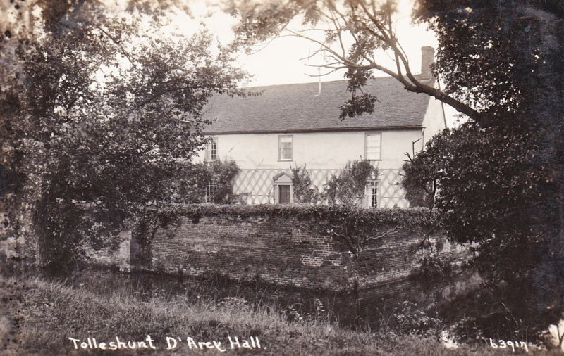 Tolleshunt D'Arcy Hall. Postcard 63917. 