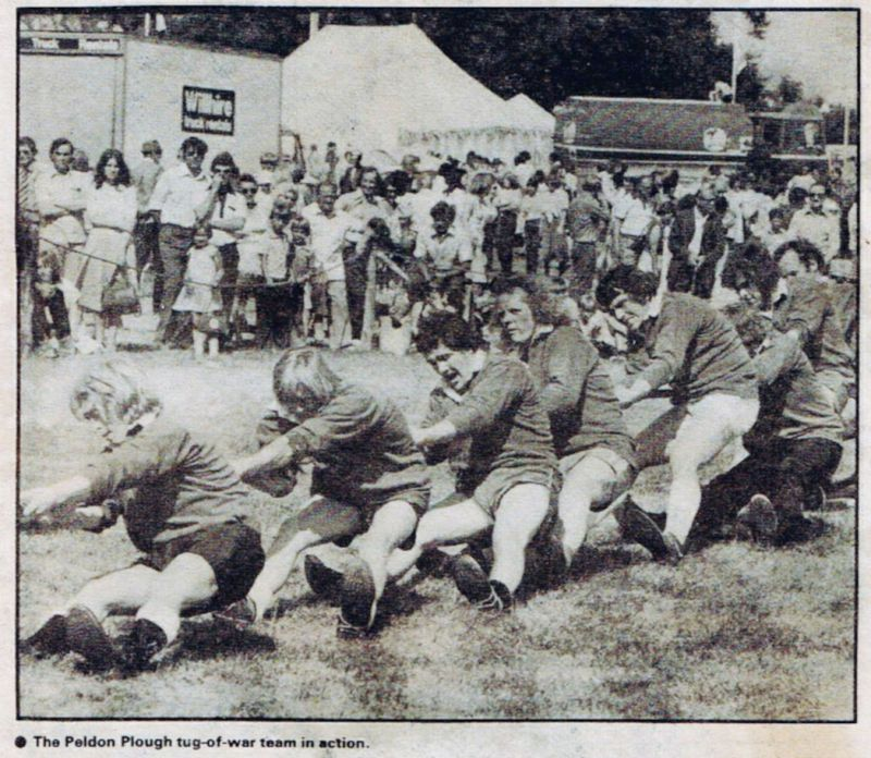 Peldon Plough Tug of War Team