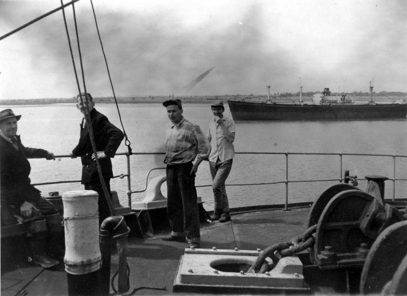 L-R Tom Lungley, Lionel Phillips.