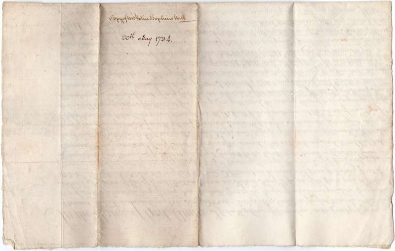 Document from Deeds of Sleyes, Peldon.
