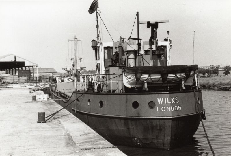 WILKS London - Coasters at Colchester Hythe.