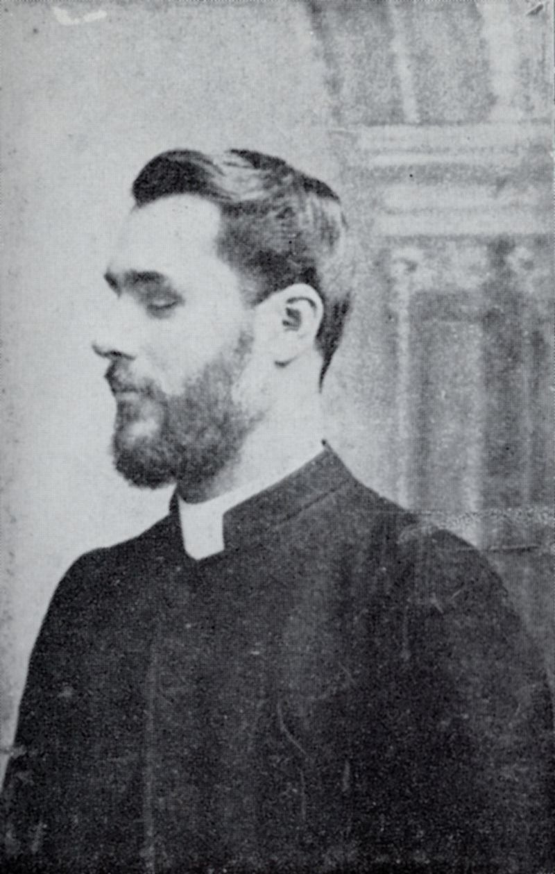 The Rev. D. Lindsay Johnson, M.A., Rector of Peldon 1895 - 1911.