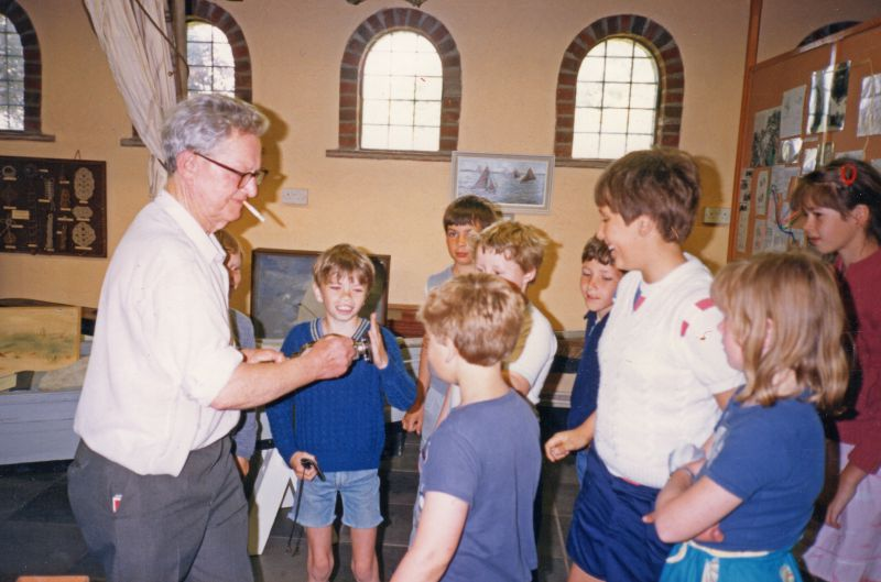 Visit to Mersea Museum by Literacy Support Centre, St John's Green School, Colchester