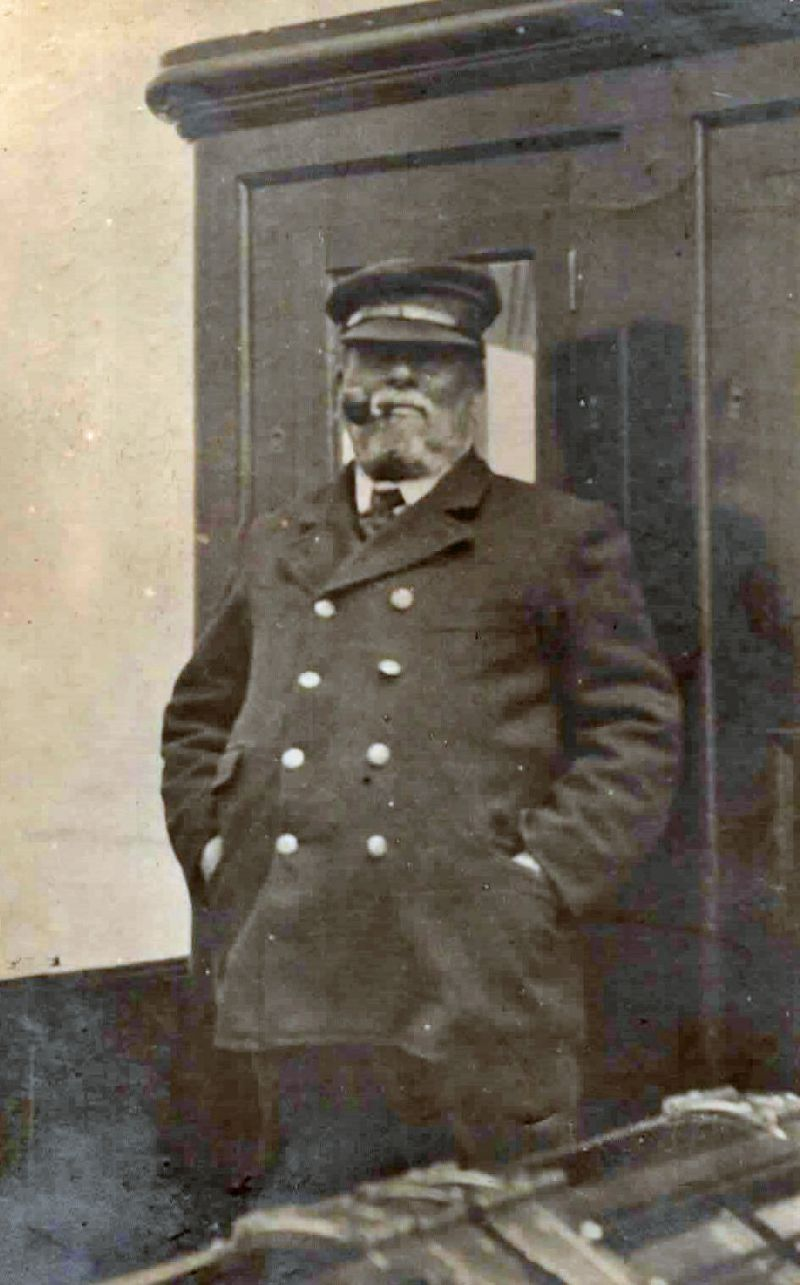 Captain Henry Sebborn, master of steam yacht GWENDOLINE.