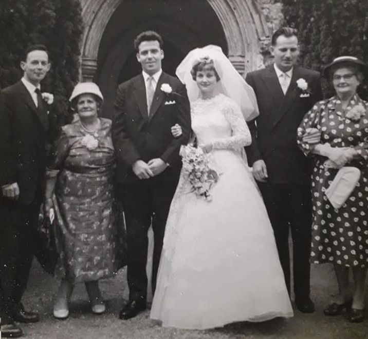 Wedding of Helen Procter and Bob Fitch at West Mersea Parish Church.