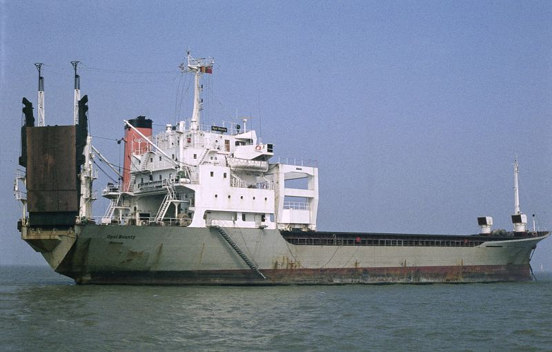 OPAL BOUNTY laid up in the River Blackwater Date: 5 September 1982.
