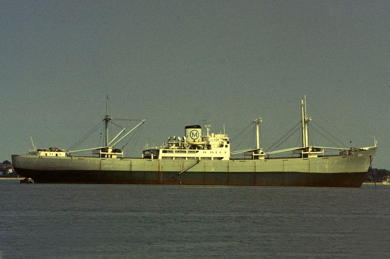 ZAK laid up in the River Blackwater Date: 26 August 1984.