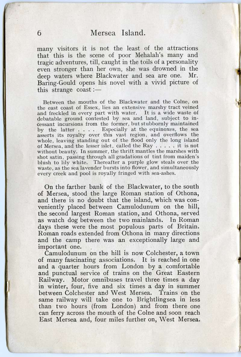 Homeland Handy Guides - Mersea Island. Page 6. 