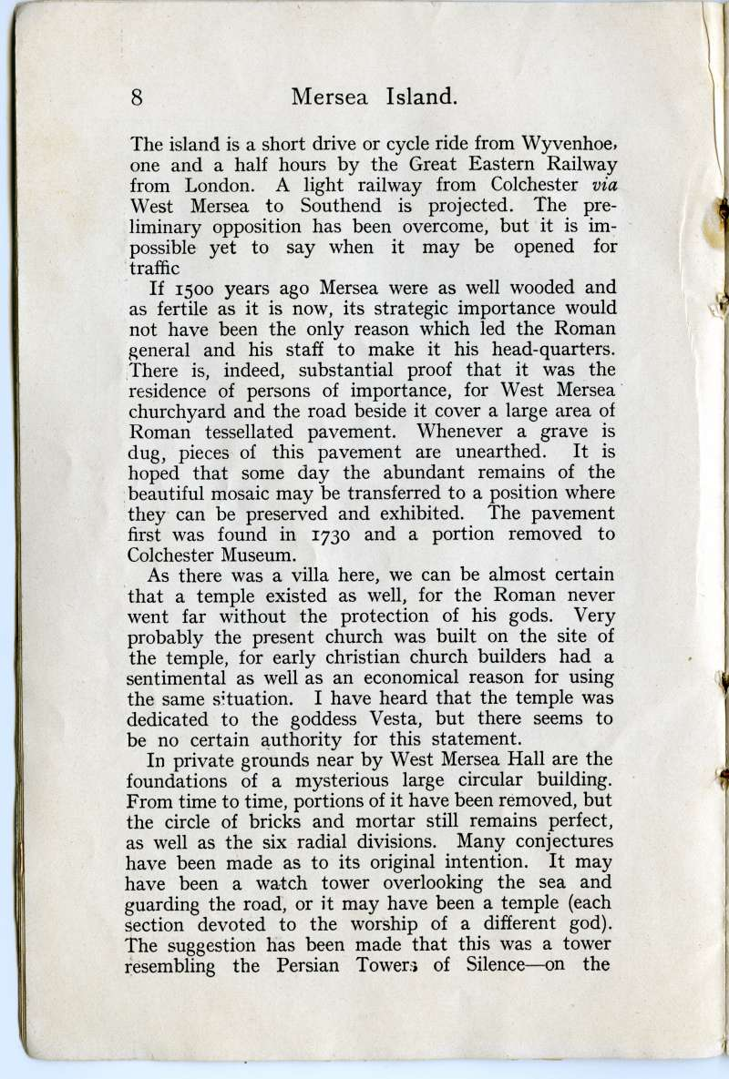 Homeland Handy Guides - Mersea Island. Page 8. 