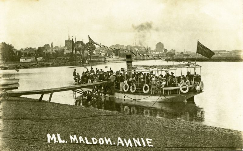 M.L. MALDON ANNIE after conversion to a motor vessel.