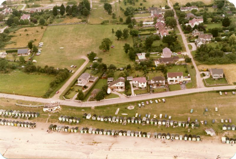 Two Sugars Cafe on Victoria Esplanade. Gun No.1 emplacement to the west of it appears to have been recently demolished. Willoughby Car Park behind.