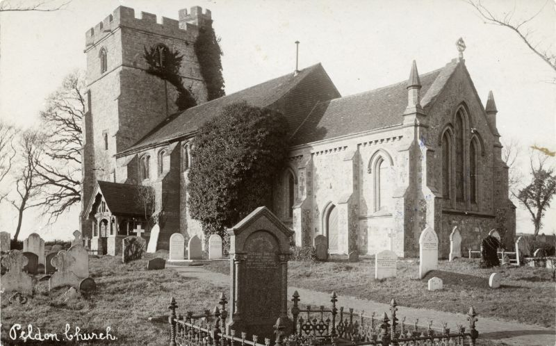 Peldon Church c1911