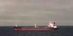 Tanker EULOTA ex LIANA at anchor off Dunkerque, following her lay-up in the River Blackwater.