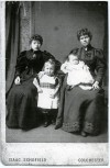16. ID RG03_107 Emily Farthing née Green (on the right), with sons and sister-in-law.