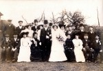 162. ID DIS2009_MAR_002 We are confident that this is the wedding of Elsie Anna Farthing and John Lungley on 11 February 1905 (it has been professionally dated to c1901 - ...