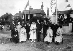 163. ID DIS2009_MAR_003 You couldn't take a similar photograph on Coast Road now! This is the marriage of Leonard William Stoker and Florence Louisa Bianchi which took place at the ...